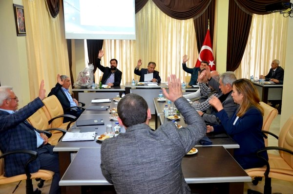 Ezine Belediyesinin 2018 Yılı Kasım Ayı Toplantısı Yapıldı