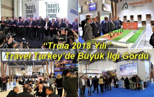 """""""Troia 2018 Yılı"""" Travel Turkey'de Büyük İlgi Gördü"""