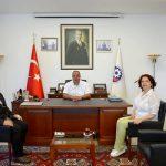 GMKA GENEL SEKRETERİ ÇTSO'YU ZİYARET ETTİ