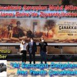 Çanakkale Savaşları Mobil Müzesi Kapılarını Ezine'de Ziyaretçilerine Açtı